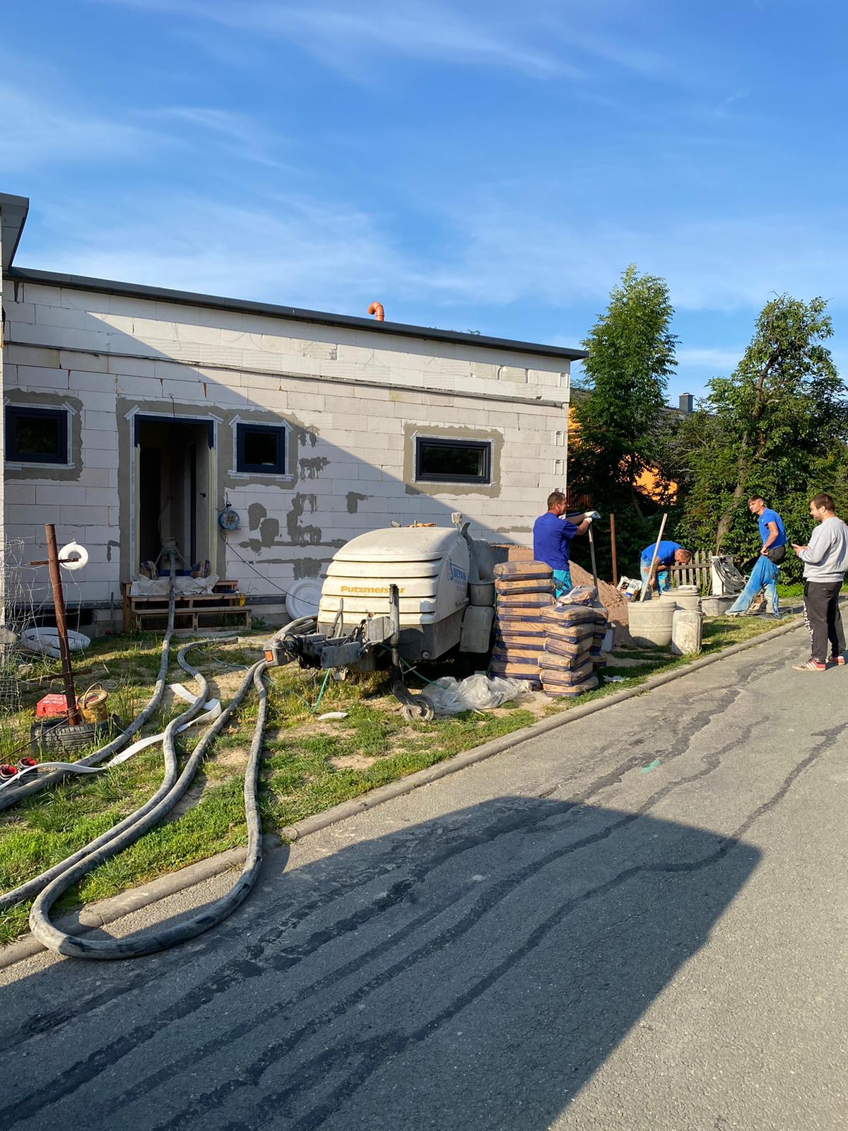 dům i garáž
